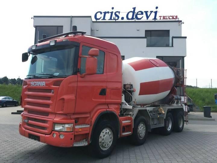 Scania R420 8x4 10 cbm Mischer / Kipper | Wechselsystem - 2006
