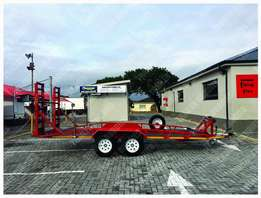 5meter Car trailer with 3,6ton winch