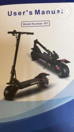 Electric scooter new model