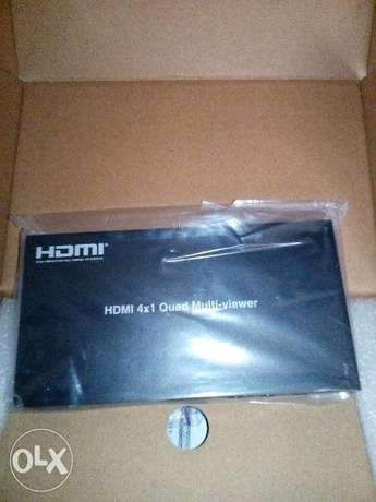 4*1 hdmi matrix with audio extract