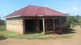 3 bedroom shell crib for sale in Kitende at 80m