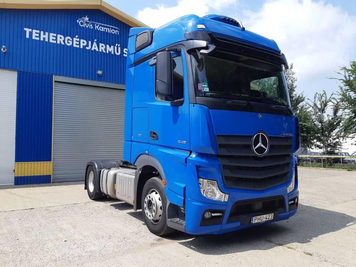 Mercedes-Benz Actros 1845  EU6 Standard - 2017