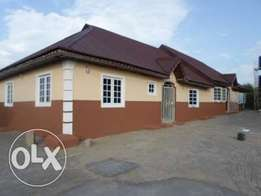 A newly built 4 units of 2 bedroom flats.