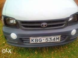 A very clean Toyota Townace at 580K