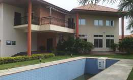 exe.5bedroom sc/pool/boyquarters for sale at east legon