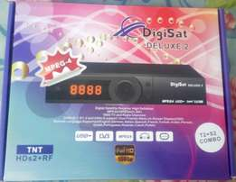 Digital Decoder/Set Top Box (DVB-T2+S2)