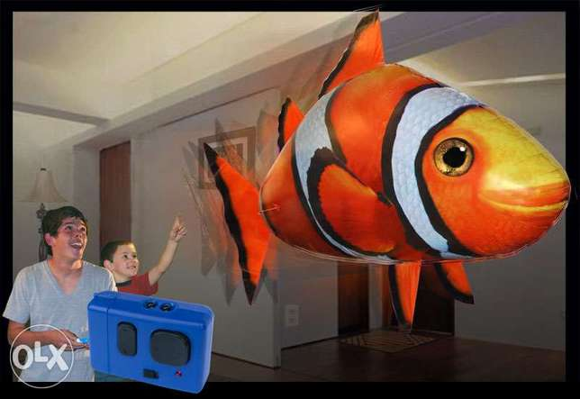 air swimmer remote control flying clown fish !COD anywhere in BAHRAIN