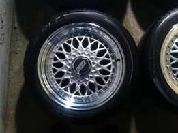 17 inch Bbs rims and tyres like new