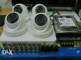4ccctv camera full HD (live on mobile)Installation