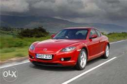 Wanted! Mazda Rx8