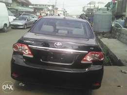 Just landed Tokunbo Corolla 2012