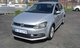 VW Polo 6 1.2 TSI Colour Silver Model 2015 5 Door Factory A/C&DVD Pla