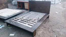 4*6 rustic contemporary bed quick sale