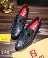 Fendi Logo Men's Loafers
