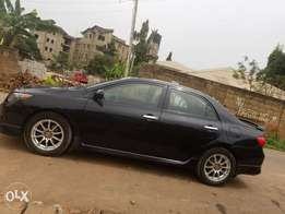 Neatly used Toyota corolla 09-10