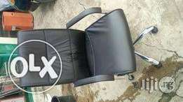 Adjustable Leather Office Chair