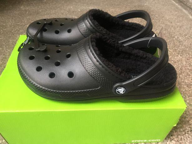 wyglądają dobrze wyprzedaż buty popularna marka oficjalny dostawca Buty sandały ocieplane CROCS różne rozmiary czarne ...