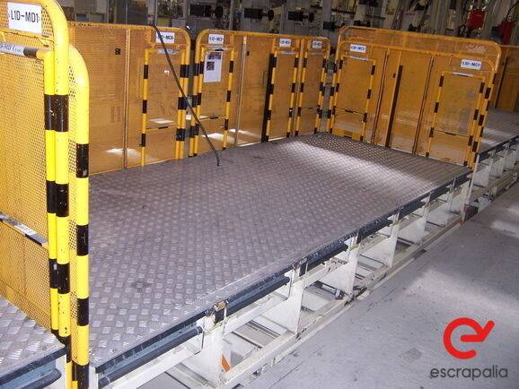 Sale mesa hidráulica elevadora  equipment for  by auction