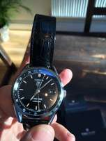 TAG HEUER Carrera Twin Time Automatic, Black Alligator strap