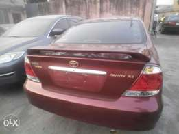 fresh toks 2005,camry XLE,fabric,formica interior,botton aircondition