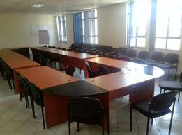Godown and Office space for sale in industrial area