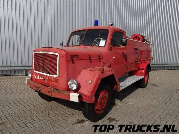 Magirus Deutz Mercuri 125A 4x4, feuerwehr - fire brigade - brandweer - 1962