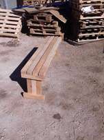 wooden bench for sale strong ,3 adults