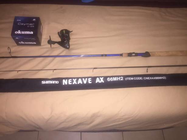 fish rod and reel Nelspruit - image 4
