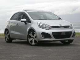 KIA RIO TECH 1.4 with free sunroof valued at R8500 (while stocks last)