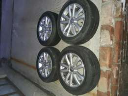 VW Polo tyres and mags
