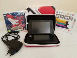 Nintendo 3DS XL with Games(Pokémon and Bit Trip Saga)