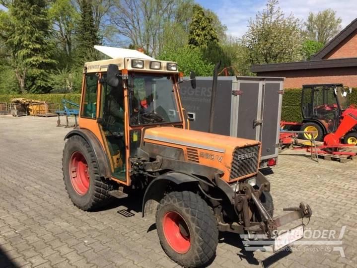 Fendt farmer 280 va eng kommunal - 2000