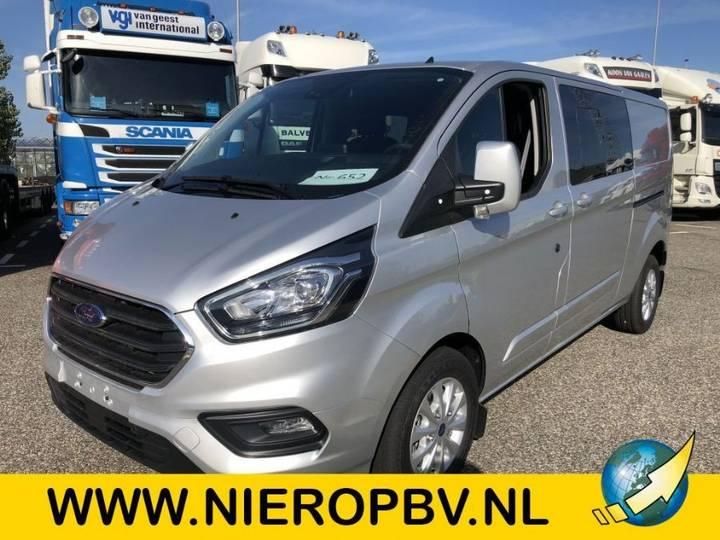 Ford Transit Custom Airco Navi Camera Dubb Cabine Dubb Schuideur - 2018