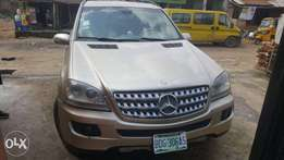 Neatly used Mercedes Benz ml30 2008 model