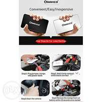 12V car jump starter, 8500mAh power bank, torch
