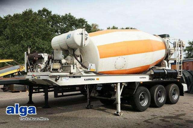 BPW betonmischer aufl karrena 10m³  luft - 1999