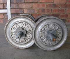 Trojan bench and weights R1450