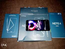 Infinix Note 4 Pro (Almost New Black with XPen)