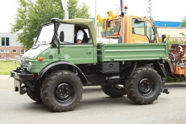 Unimog U900,u406,u417,cabrio,agrar - 1989