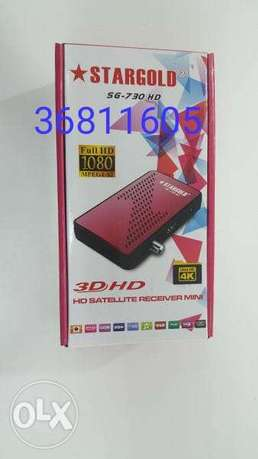 Full hd receiver with programme
