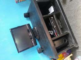 Tv,Tv Stand,Home Theatre With Speaker and Gotv decorder for Sale