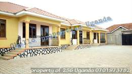 A must rent excellent 2 bedroom house in kira at 600k