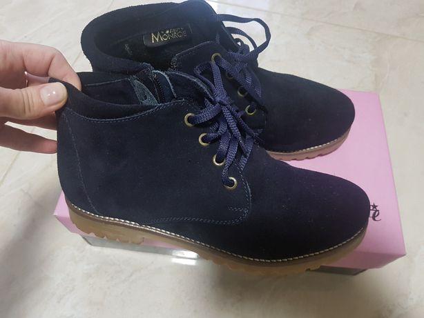 Ботинки замшевые  1 200 грн. - Жіноче взуття Київ на Olx 0692df7f3a60f