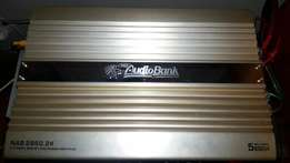 Audiobank 5600w 2channel amp