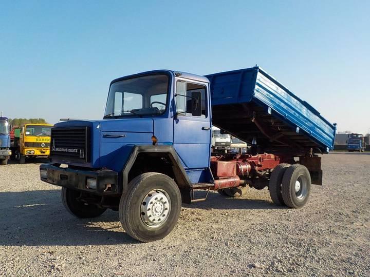 Iveco Magirus 160-23 (GRAND PONT / LAMES / 4X4) - 1986