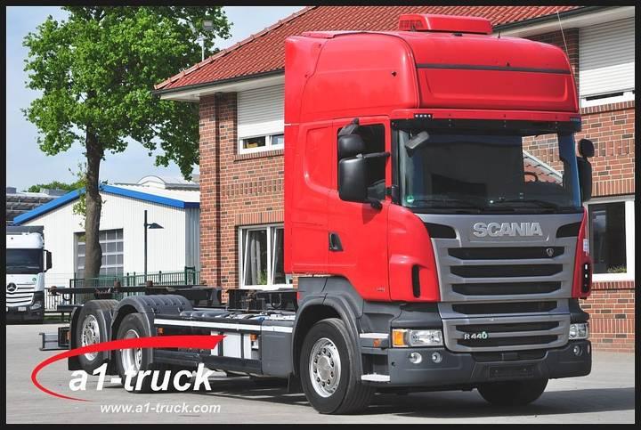Scania R 440 LB 6x2 MNB, EURO 6, Navi, Retarder - 2013