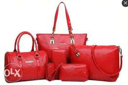 Leather made women handbags