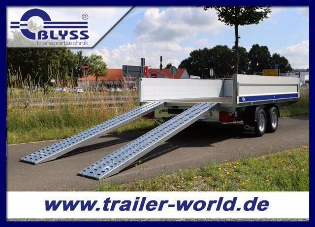 Blyss Hochlader 330x180x40cm Anhänger 2700kg GG