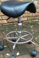 Beauty Salon Technician Saddle Stool
