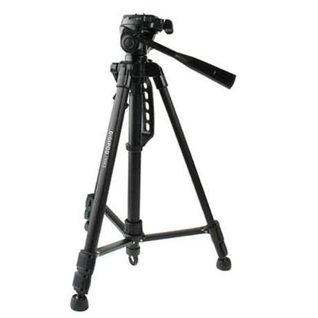 DIGIPOD TR-553 Traveler Camera Tripod 130cm with 3-Way Panoramic Head Westlands - image 1